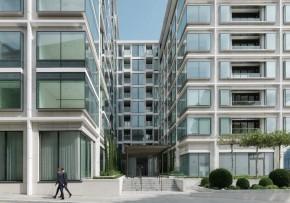 伦敦水岸传奇 Landmark place豪华公寓, 两室一厅一厨两卫