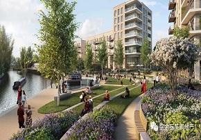 联江庭园:伦敦三区 总价35万起 运河水景房