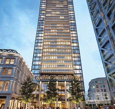 世贸一号:伦敦金融城新地标 寸土寸金的奢华享受